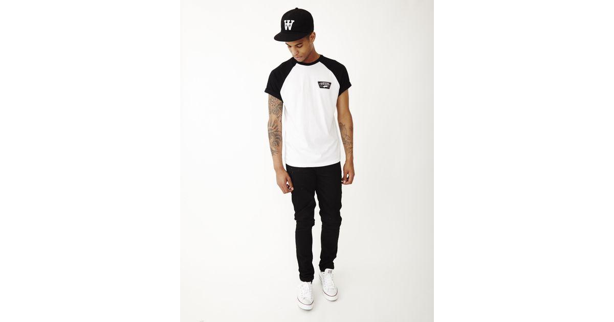 c1ecd13cb6 Lyst - Vans Full Patch Short Sleeve Raglan T-shirt White in White for Men