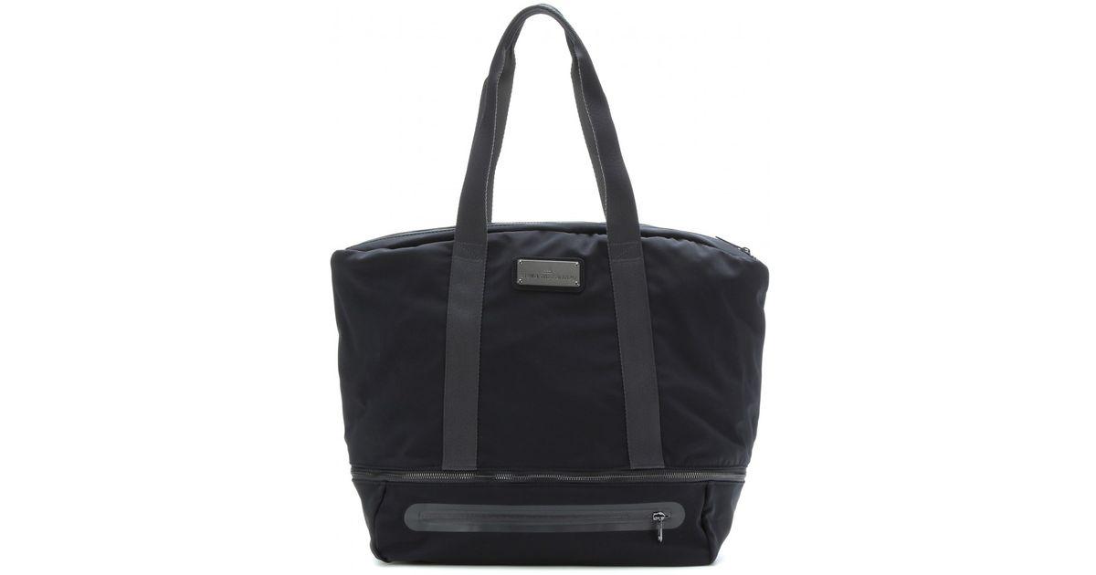 7449e7441b8d Lyst - adidas By Stella McCartney Iconic Big Gym Bag in Black