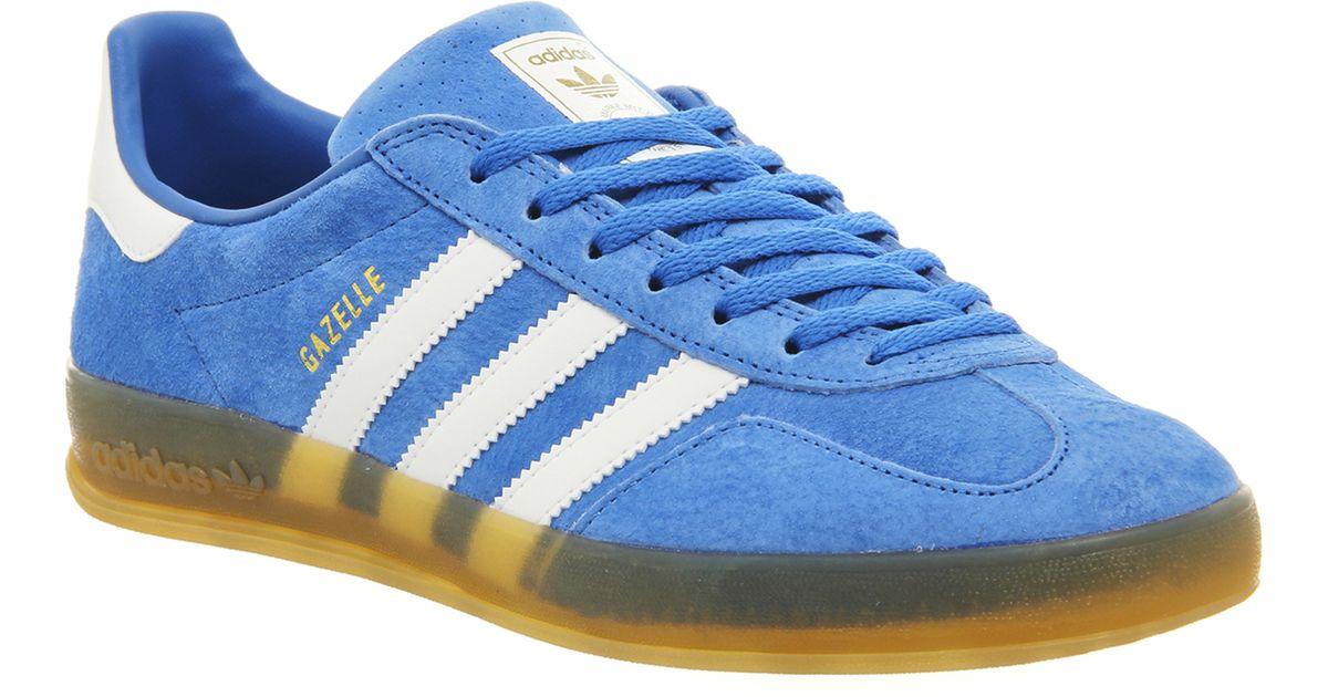 Adidas Gazelle Burgundy And Blue