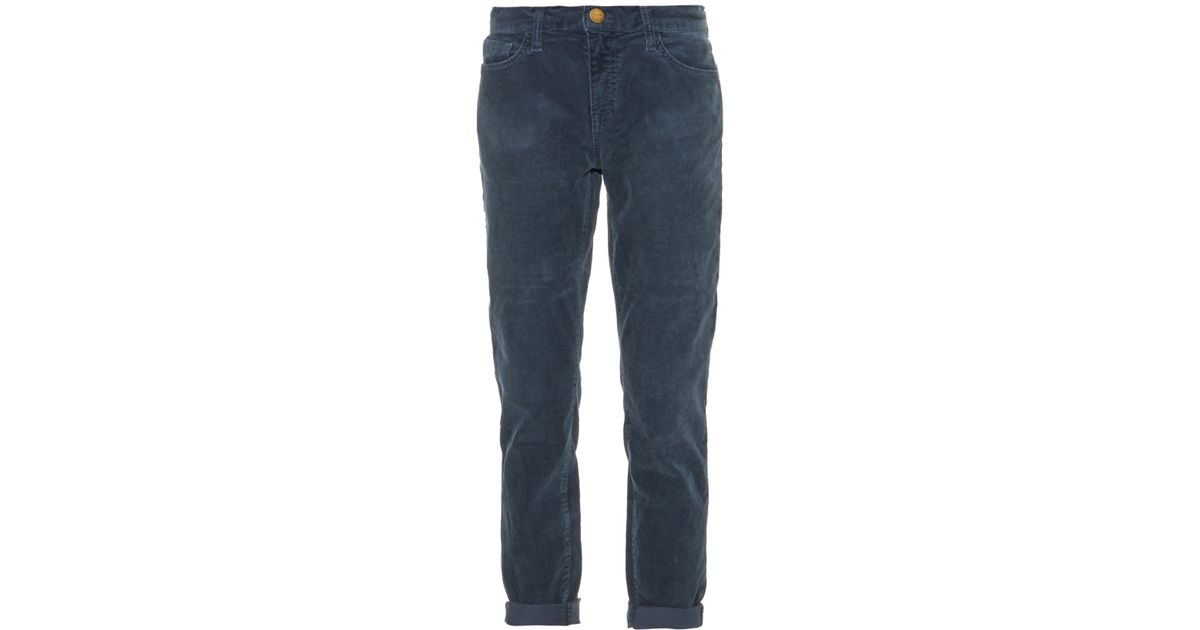 largest selection of 2019 search for original low cost Current/Elliott - Blue The Fling Corduroy Low-rise Skinny Jeans - Lyst