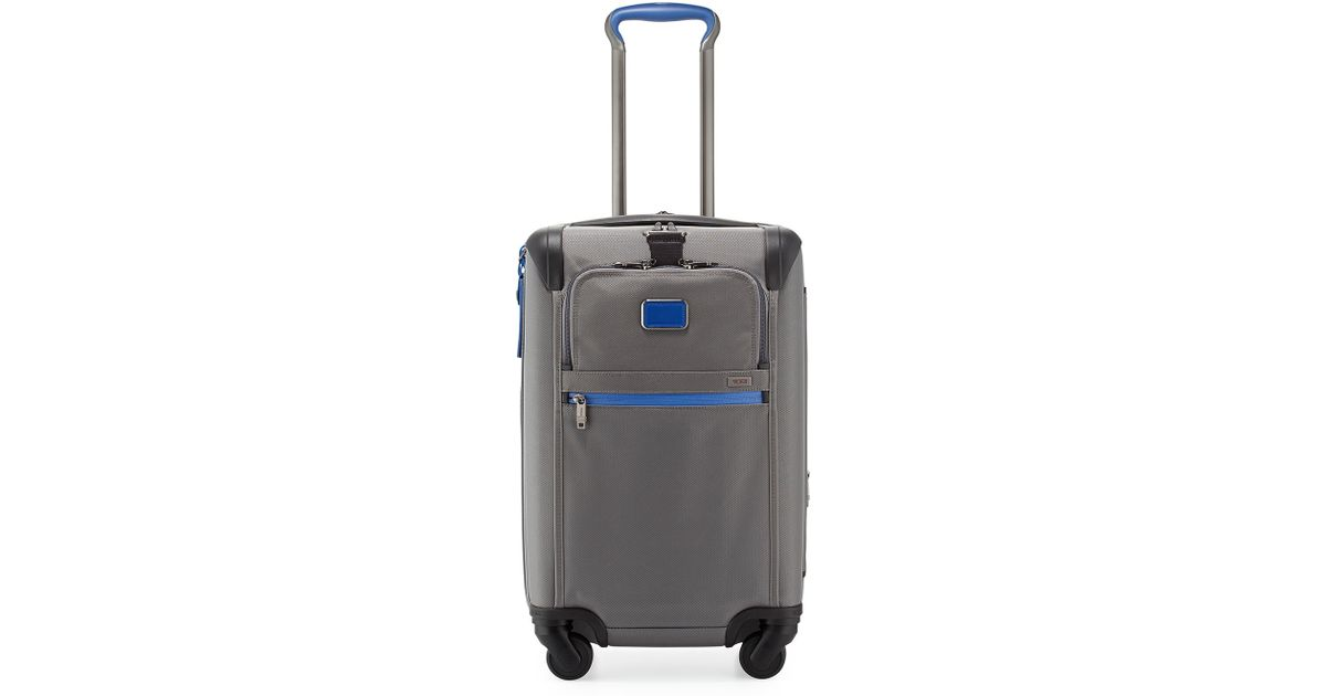 bace9b508 Lyst - Tumi Alpha 2 Expandable Carry-on Luggage in Blue for Men