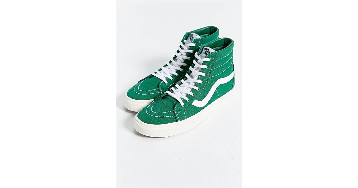 vans green high tops