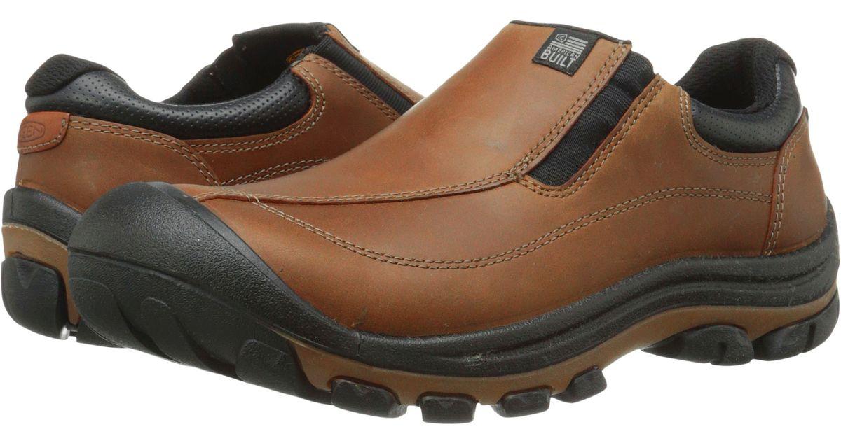 Keen Piedmont Slip On In Brown For Men Lyst