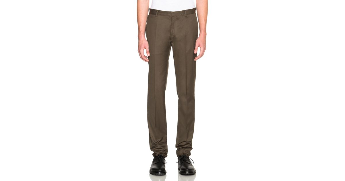 Calvin klein Exact Trousers in Green for Men - Save 40% | Lyst