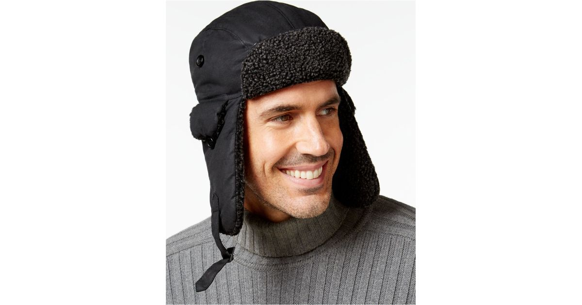9a47096ab9b Lyst - Barbour Fleece-lined Trapper Hat in Black for Men