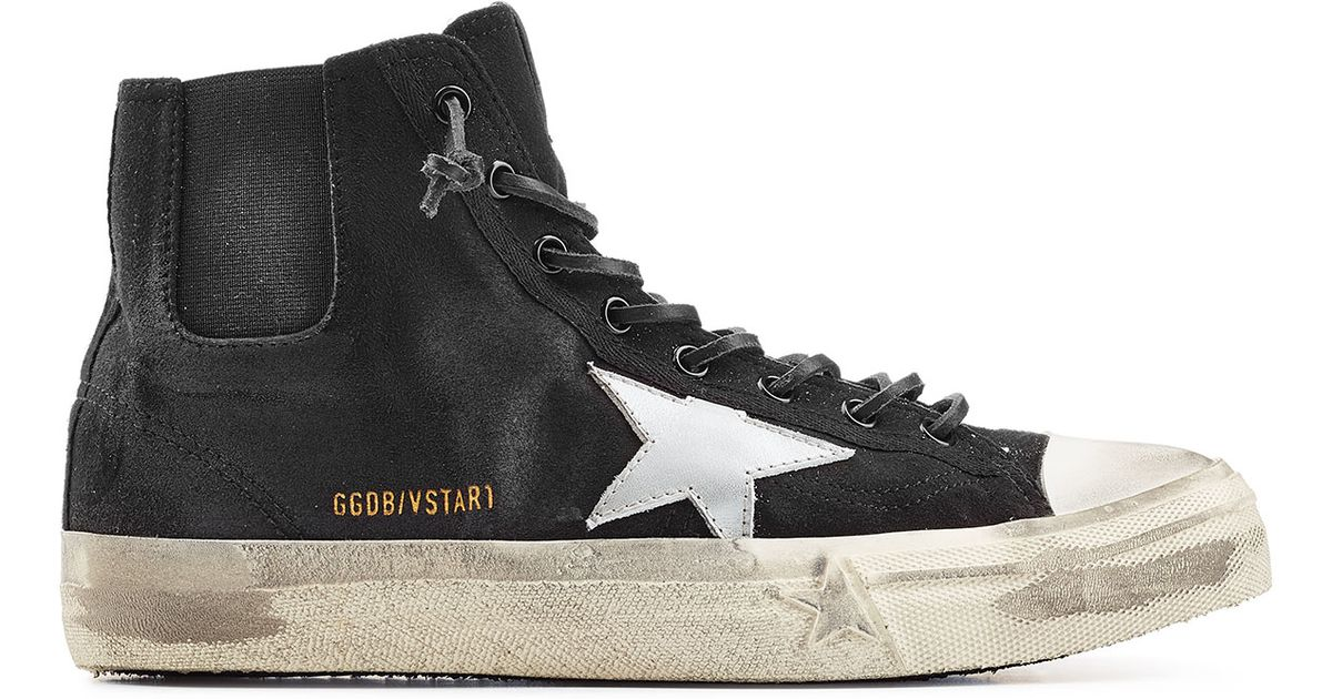 Read more Black Suede V-Star 1 High-Top Sneakers IjwDh8D6x