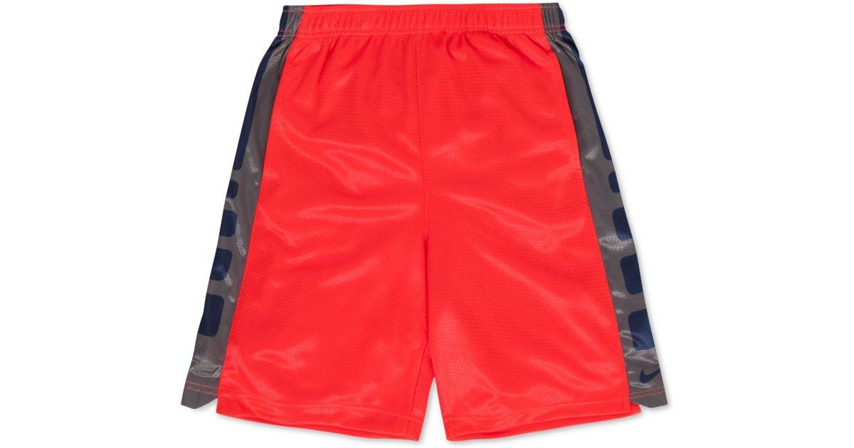 eb41e01fdeaa Lyst - Nike Little Boys  Elite Shorts in Red for Men