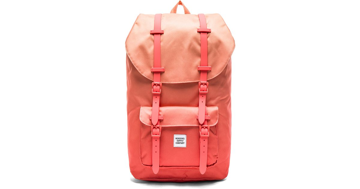 Lyst - Herschel Supply Co. Gradient Collection Little America in Red d3eba07c9d619