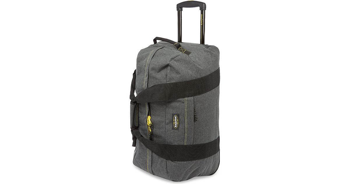 f5a24649526 Eastpak Container 65 Wheeled Duffel Bag - For Men in Black for Men - Lyst