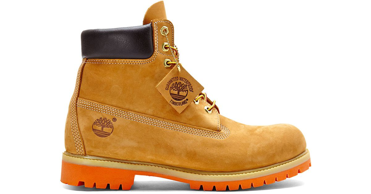 Timberland Wheat 6 Inch Premium Waterproof Boots In