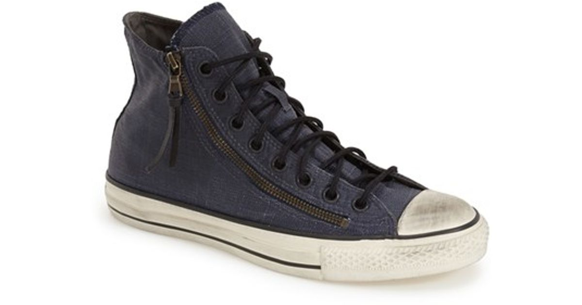 ce1fb858170d Lyst - Converse Chuck Taylor All Star High Top Zipper Sneaker in Blue for  Men