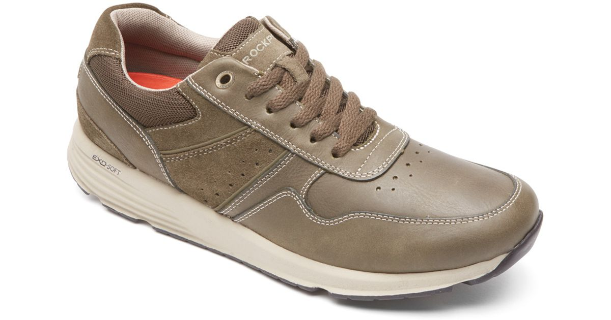 Discount Explore Websites For Sale Rockport Walk This Way Lace Up Sneaker(Men's) -Black Clearance Pay With Paypal TtF9X