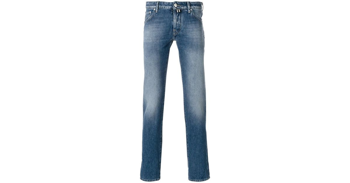 faded effect jeans - Blue Jacob Cohen Sast Cheap Sale Amazing Price Geniue Stockist Online Free Shipping Clearance qDsSC9sxyY