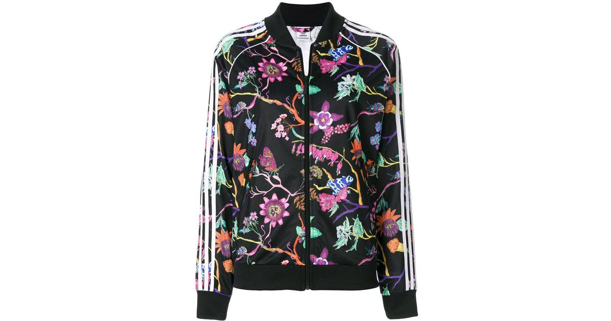5a0eabf51bcb Lyst - adidas Poisonous Garden Track Jacket in Black