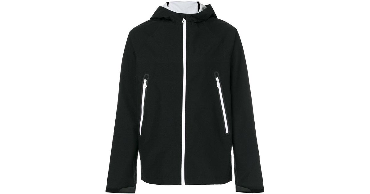 3c2aa52d6c7d Lyst - adidas Originals Trefoil Hard-shell Jacket in Black for Men