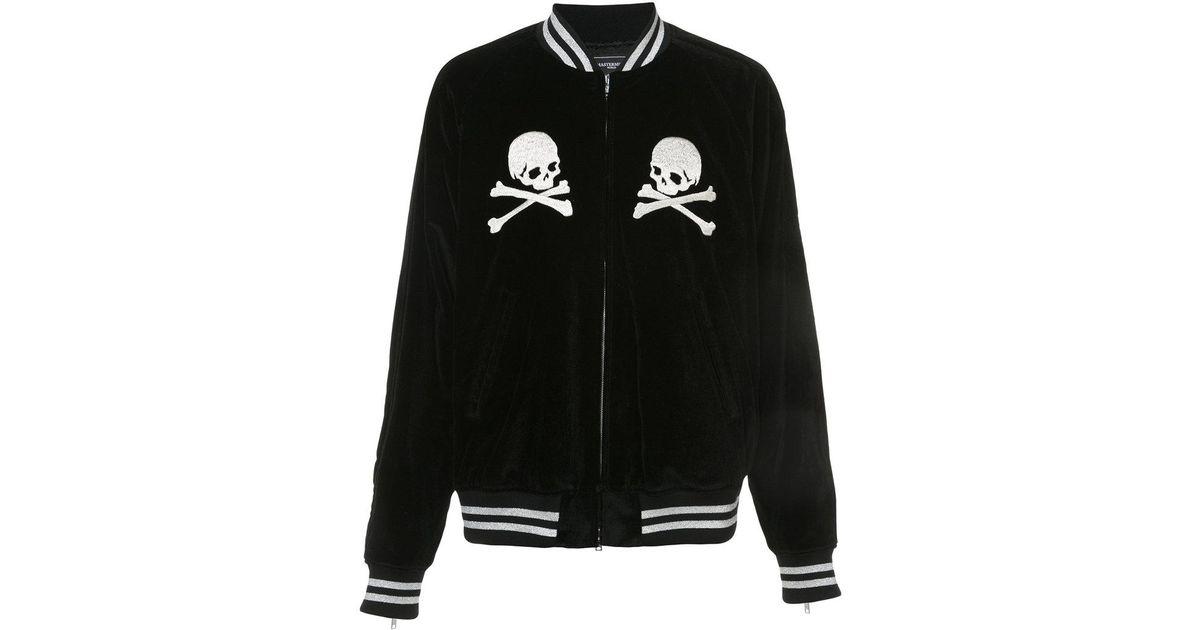 Jacket Black In For Men Skull Embroidered Bomber Japan Mastermind Lyst xwXn0YHq7v