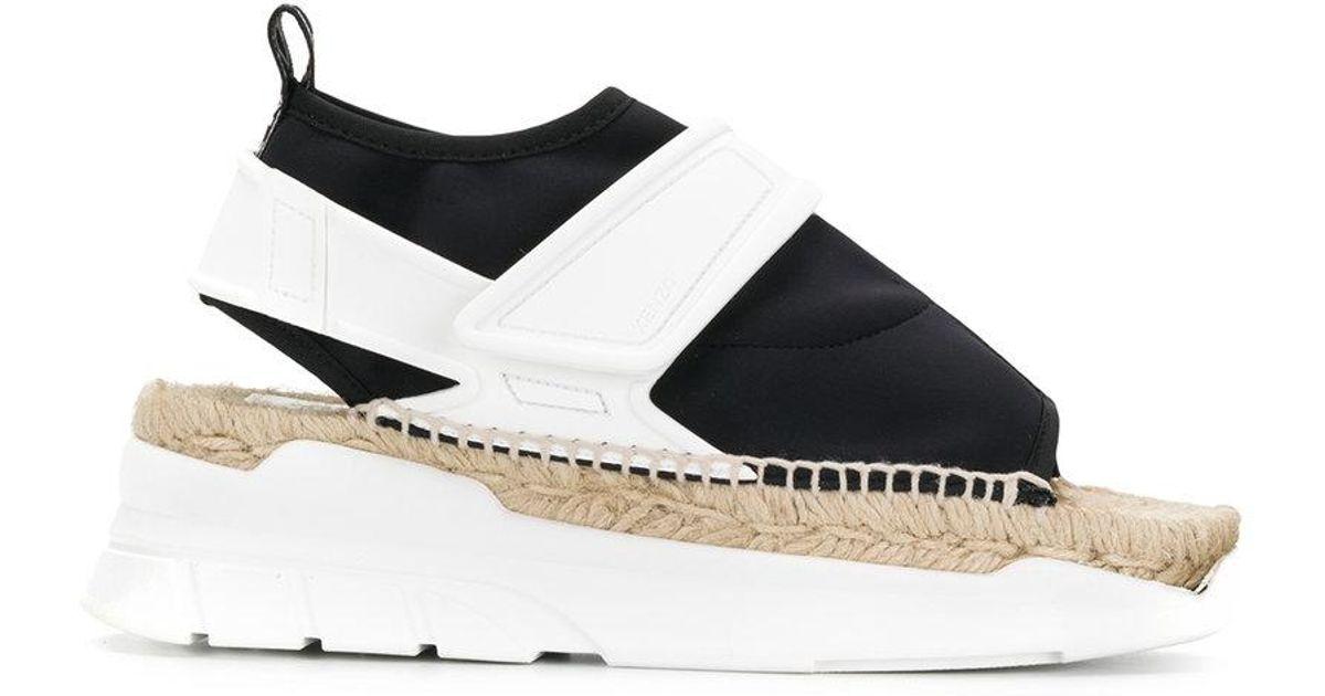 3048e8a9af8 Kenzo High Platform Sandals in Black - Lyst