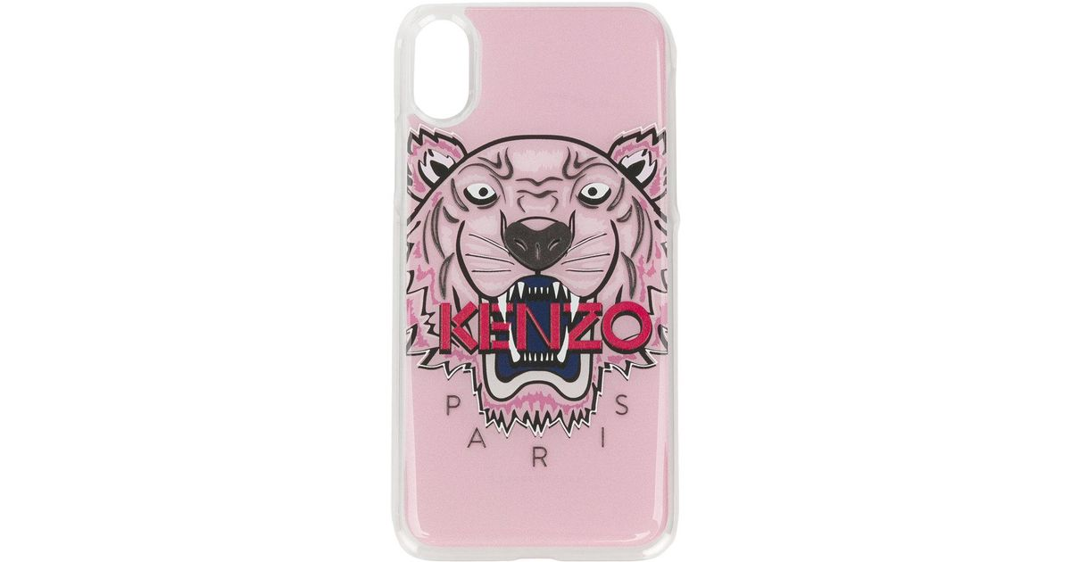 cb42452904 KENZO - Multicolor Tiger Iphone X Phone Case - Lyst