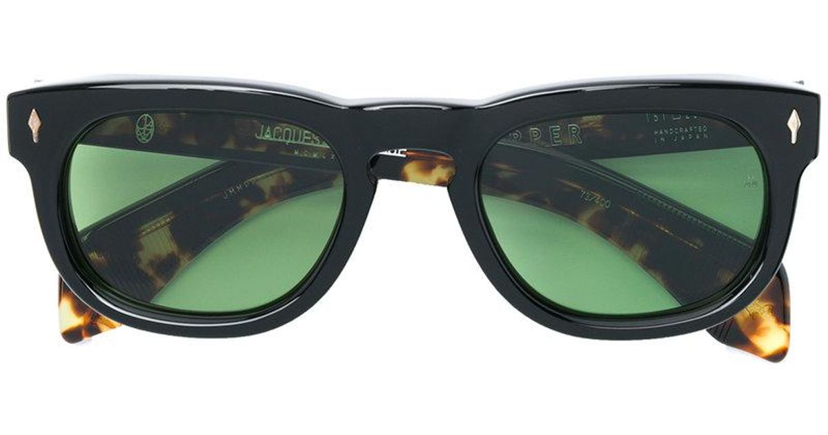 7f9e6e7aad1 Lyst - Jacques Marie Mage The Pepper Sunglasses in Black