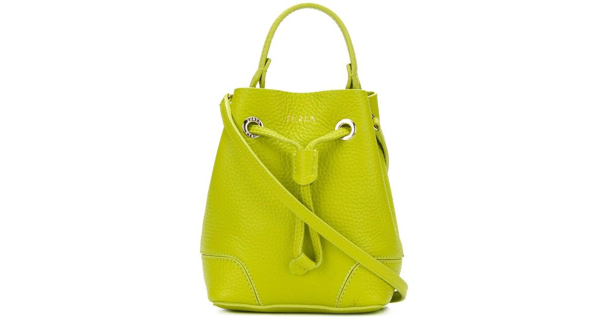Mini Seau Furla Stacy Green Sac Lyst xeCQrWdEBo