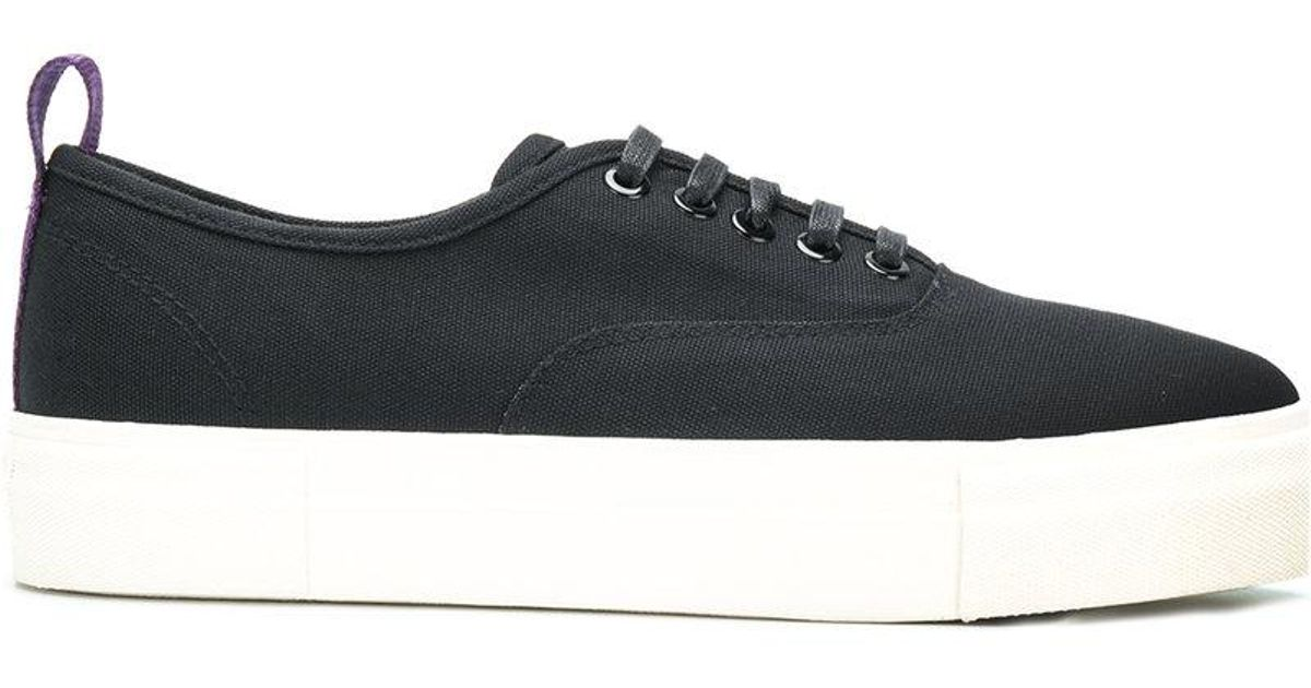 Cheap Release Dates contrast pull tab sneakers - Black Eytys Shopping Online New Arrival Online L5cQfpKWI
