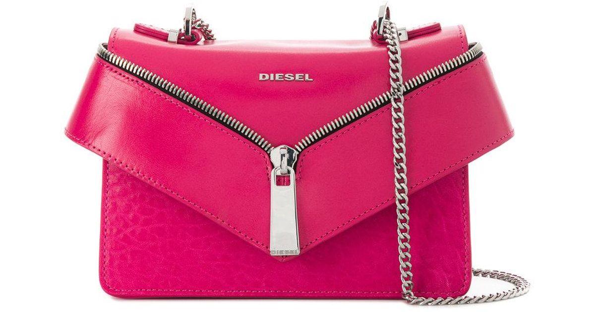 b7286565afd DIESEL Le-xs Misha Ii Crossbody Bag in Pink - Lyst