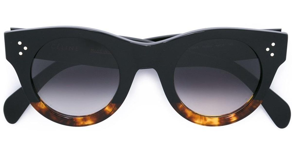1009a1eb5c4 Céline  alia  Sunglasses in Black - Lyst