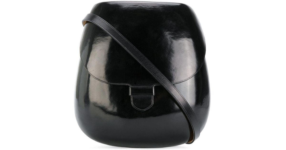 Lyst - Lemaire Cartridge Crossbody Bag in Black