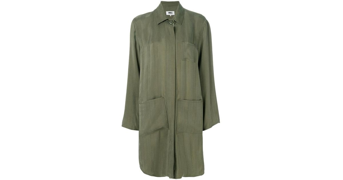 0cbfaa53f8e mm6-by-maison-martin-margiela-green-Jacquard-Stripe-Coat.jpeg