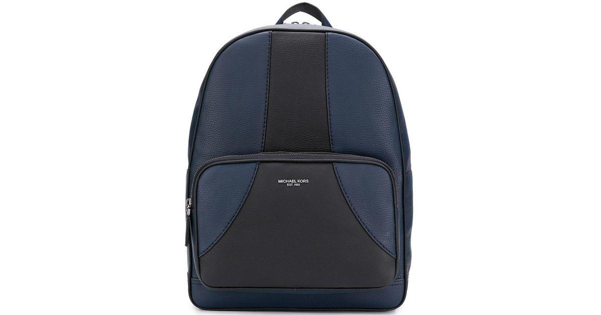 d36bd191a358 Lyst - Michael Kors Bryant Medium Backpack in Blue for Men