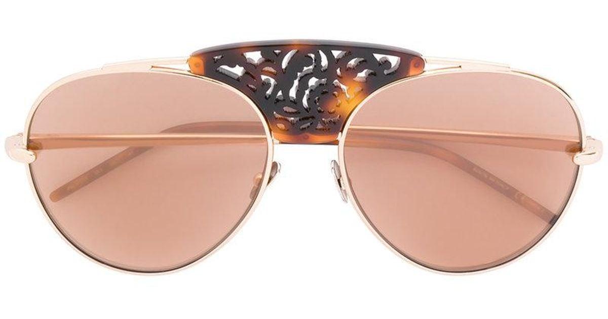 pomellato Gafas sol adornadas puente de de gafas de de wOf7Pqw