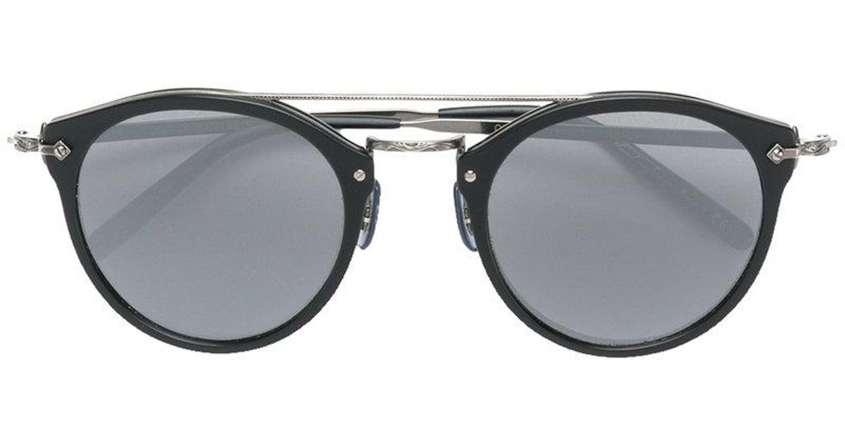 7c6ac9416b5 Lyst - Oliver Peoples Remick Sunglasses in Black