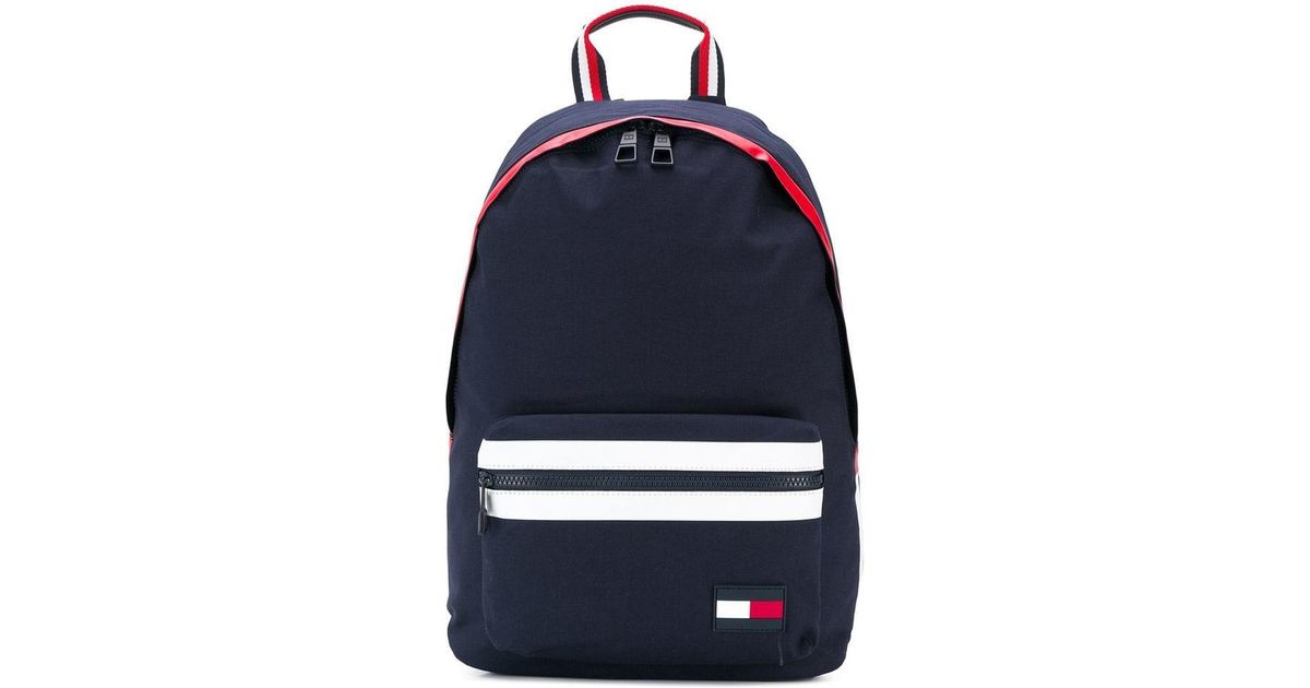 86ebf798a94 Tommy Hilfiger Am0am04635 Backpack Backpack Unisex in Blue - Save 46% - Lyst
