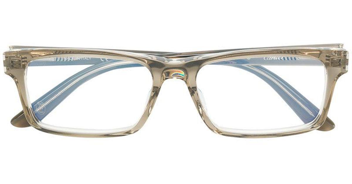Lyst - Cartier C Décor Glasses