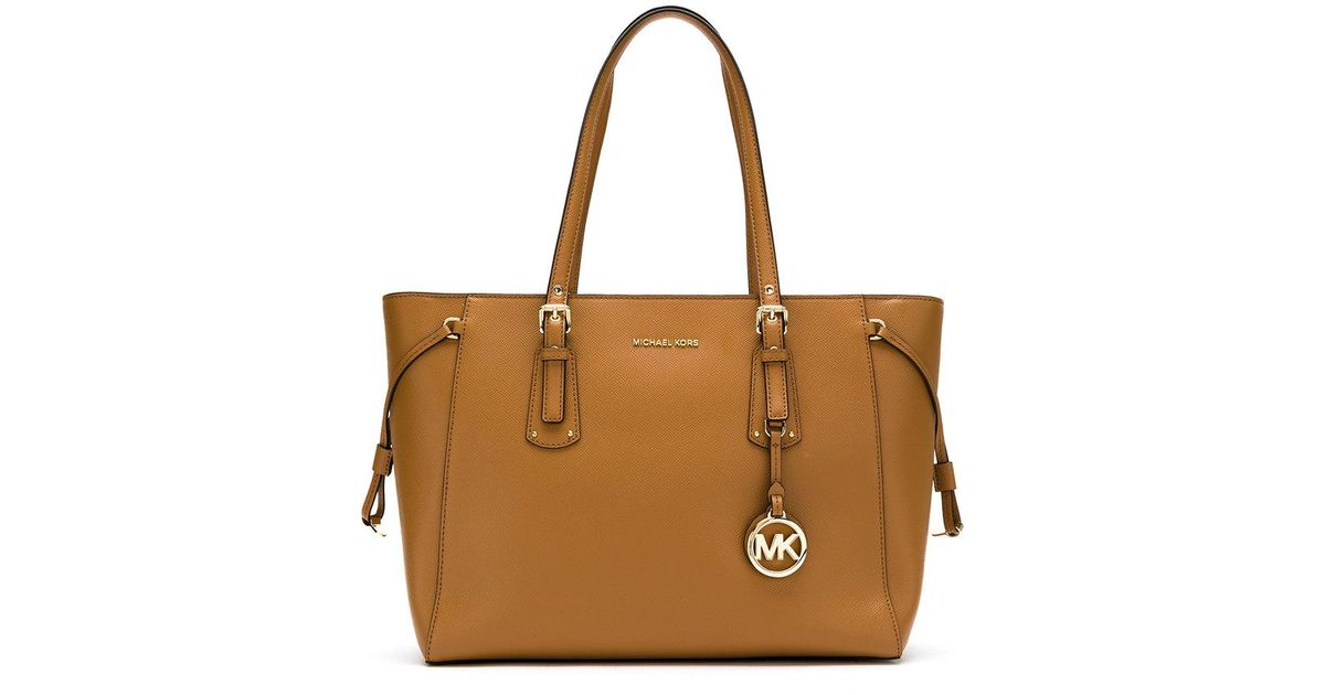 14f2ee76b82f30 MICHAEL Michael Kors 30h7gv6t8l 532 Leather/fur/exotic Skins->leather in  Brown - Lyst
