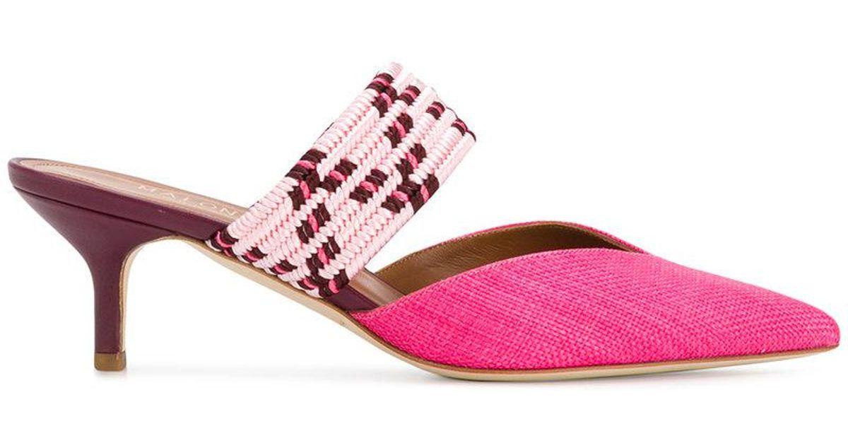 pointed toe mules - Pink & Purple Malone Souliers mOgJv8G