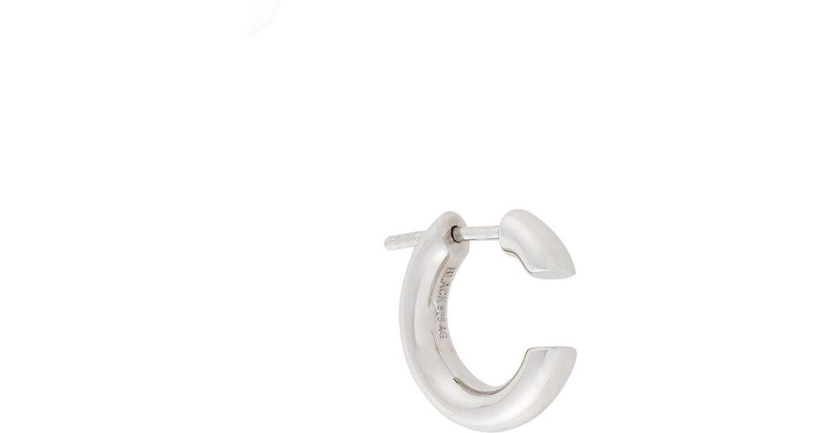Disrupted 14 earring - Metallic Maria Black VdhYKiy