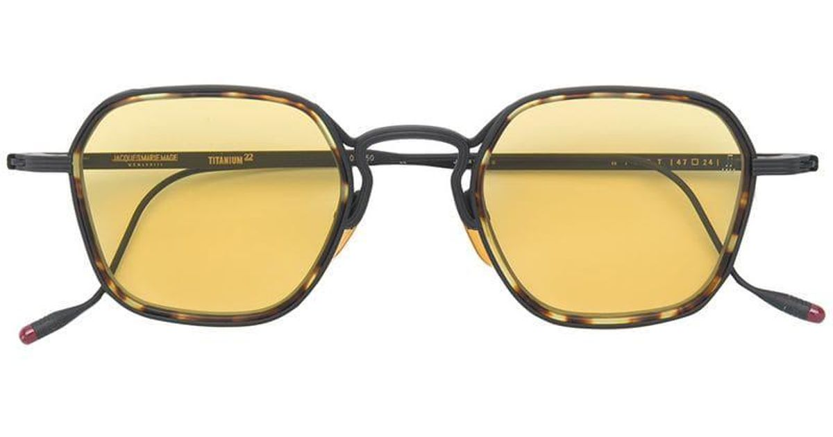 7137f2214a9 Jacques Marie Mage Wyatt Sunglasses in Black - Lyst