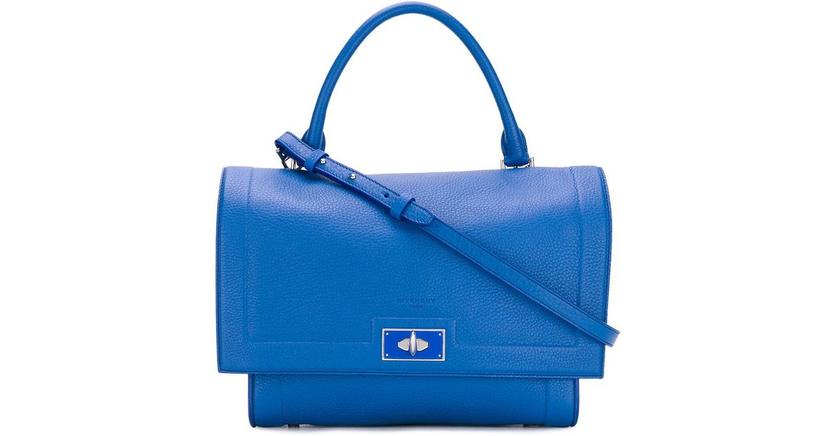 6c1dc641c01 Lyst - Givenchy Small Shark Tote Bag in Blue
