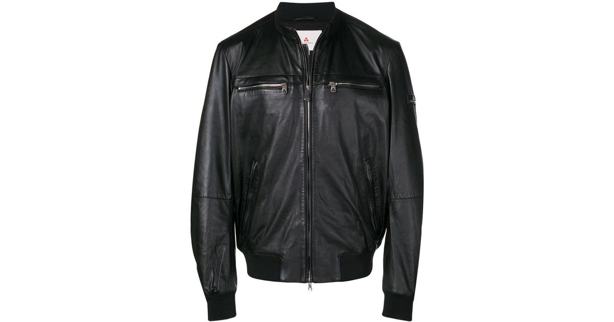 sale retailer e2144 e15c9 Peuterey - Black Bomber Jacket for Men - Lyst