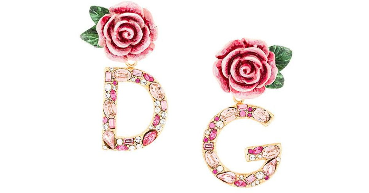 jewellery collections dolce with d flowers gold gabbana and earrings collection g thirteen necklaces clip rings pendants