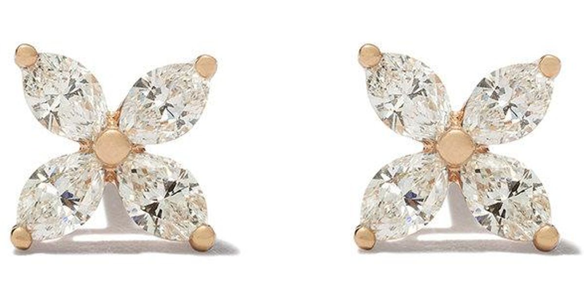Tiffany & Co. Tiffany Victoria diamond small stud earrings - Metallic