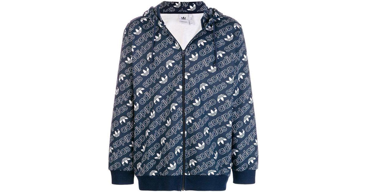 527d4878b95f Lyst - adidas Hoodie Sweatshirt in Blue for Men - Save 73%