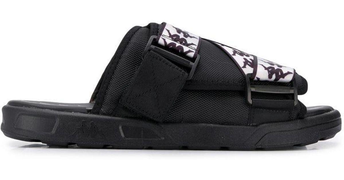 ca3a15fcd354 Lyst - Kappa 222 Banda Mitel 1 Slides in Black for Men - Save 6%