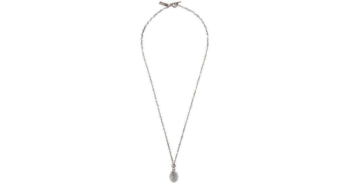 Henson Engraved Illuminor necklace - Metallic kj7lh6