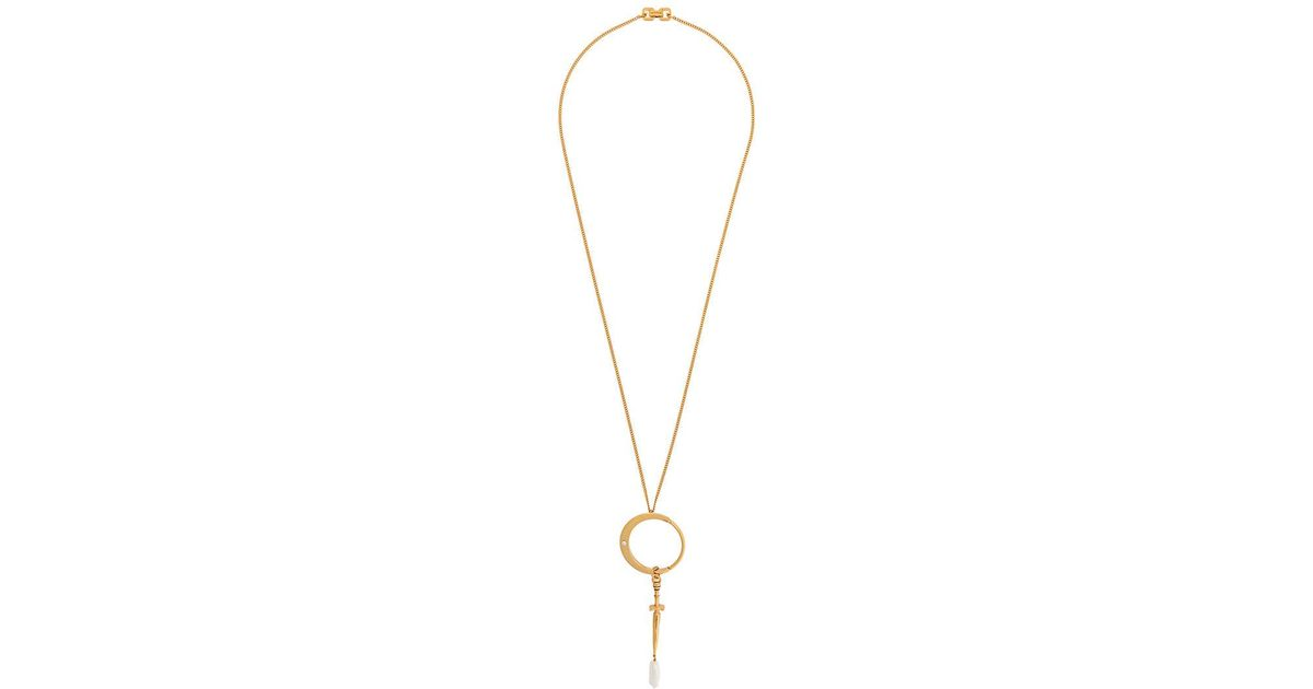 Givenchy Dagger necklace - Metallic OGlTeNe6hy