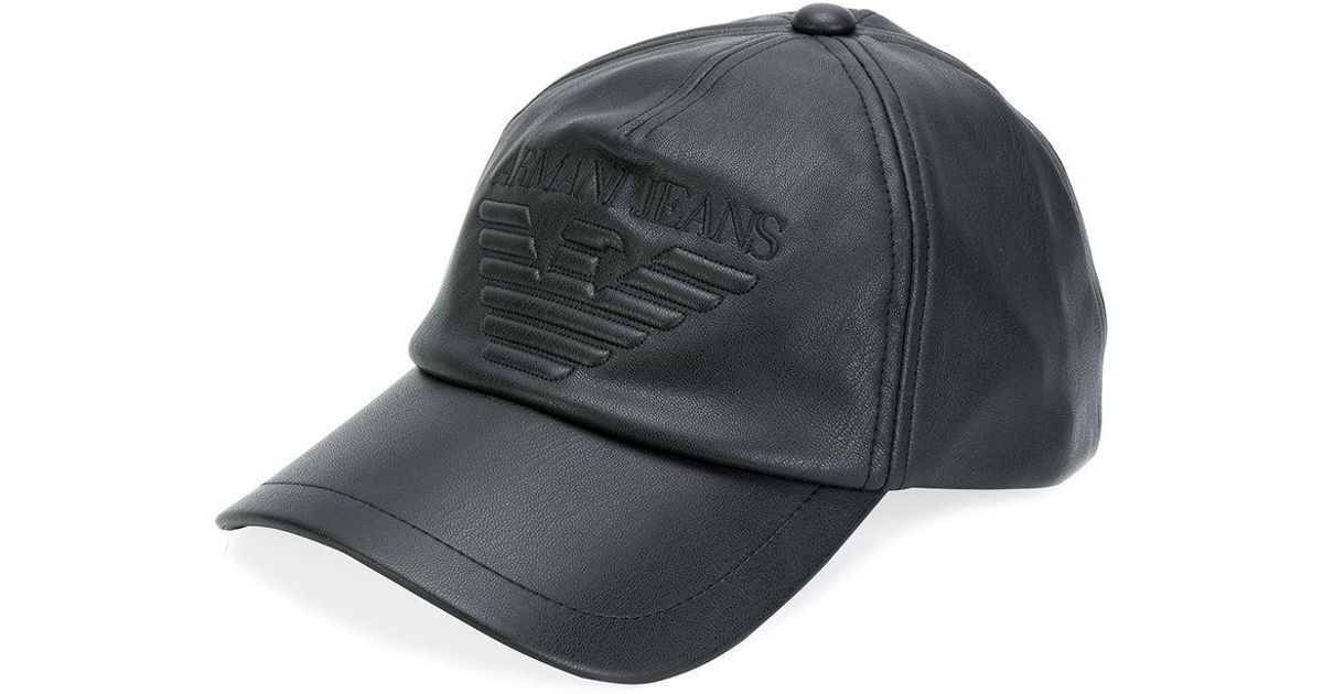 Armani Jeans Cappello Con Logo in Black for Men - Lyst 709ae56ad12b