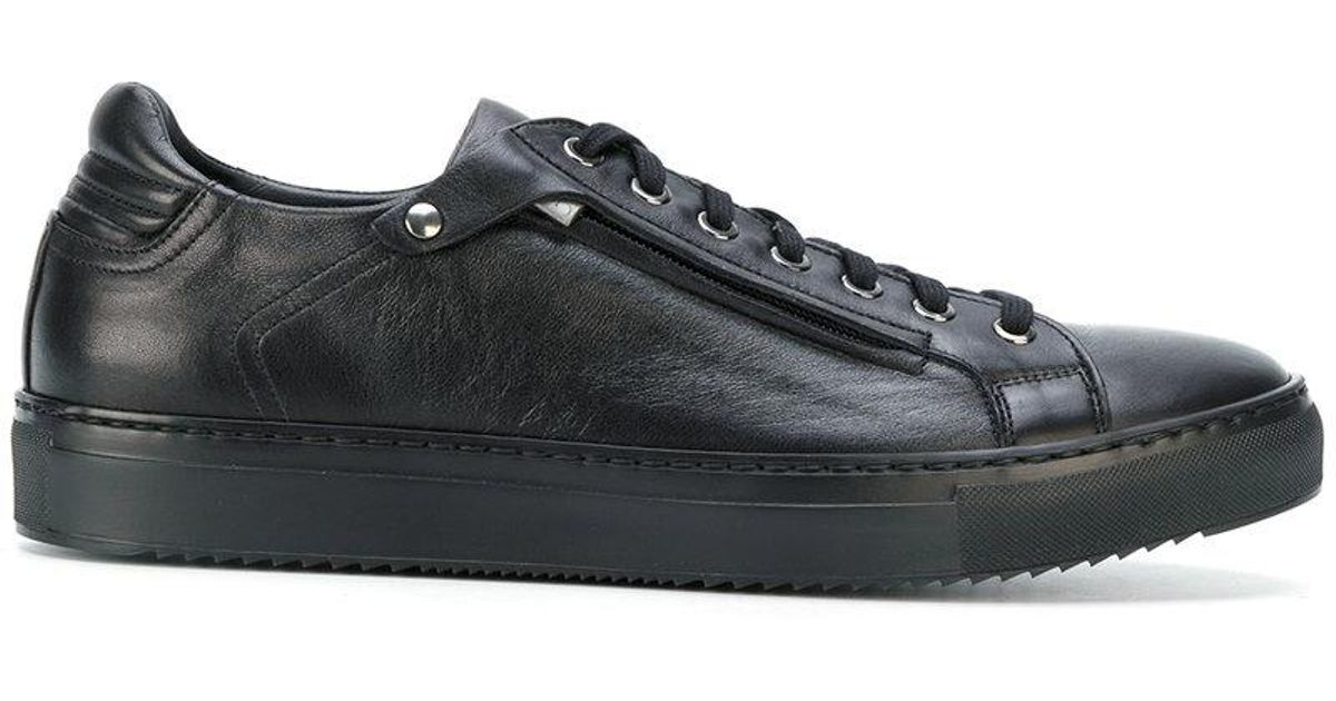 Cheapest Cheap Price Shopping Online Clearance zip detail sneakers - Black Fabi Xnm9ON