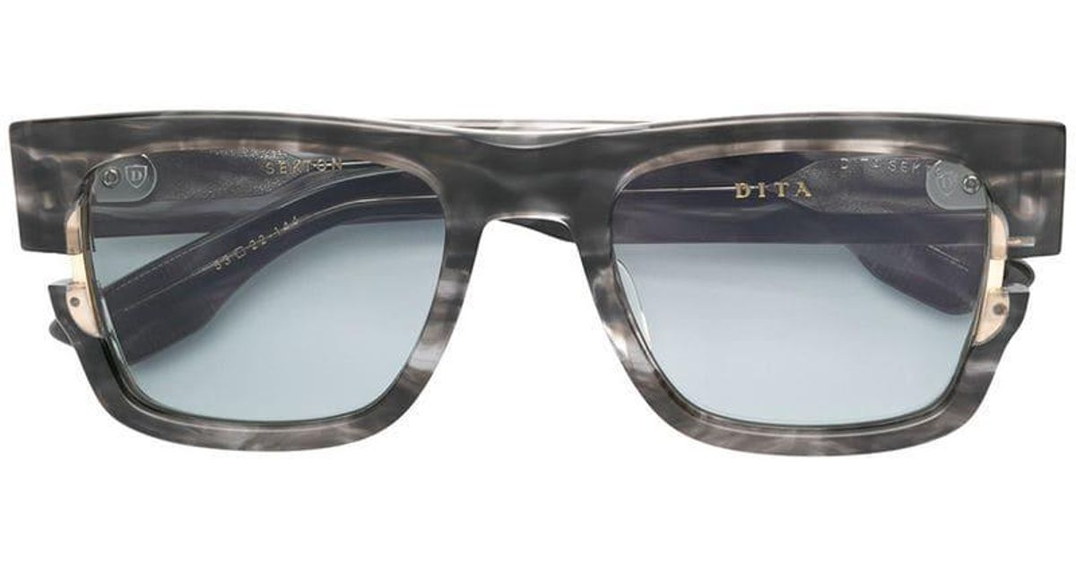 8ce38e3b5bc7 Dita Eyewear Sekton Sunglasses in Gray - Lyst