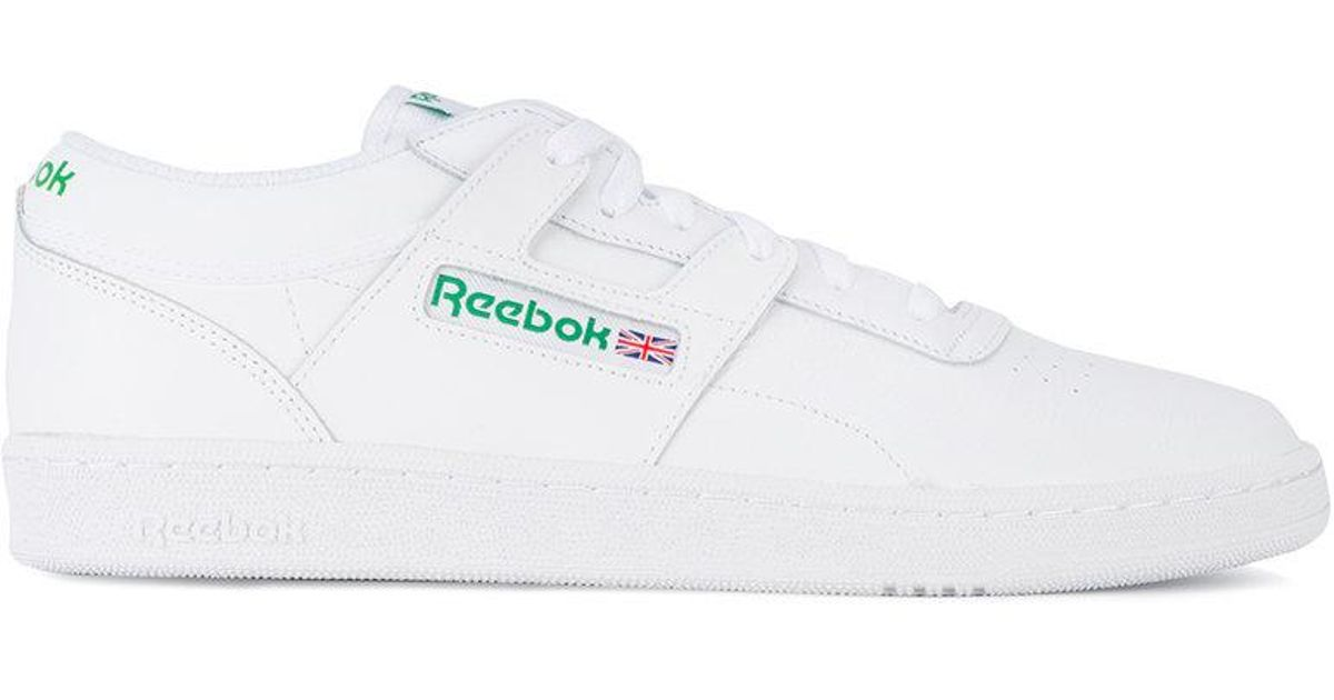 Reebok Club Workout Sneakers in White for Men - Lyst 7b54de849